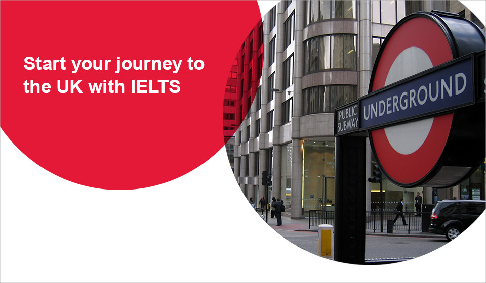start your journey to the UK with IELTS