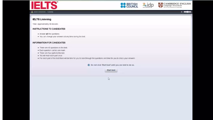 computer-delivered IELTS
