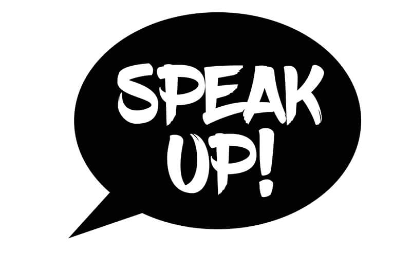Speak Up Graphic